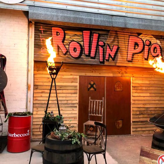 The Rollin Pig - The Yard @ Ann Street PA5